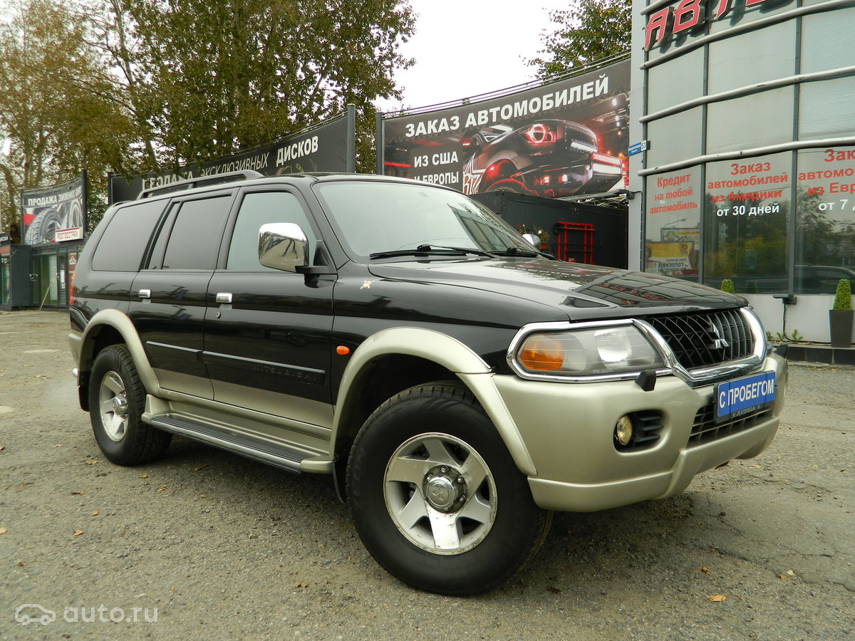 выкуп Продажа Mitsubishi Pajero Sport I в Санкт-Петербурге