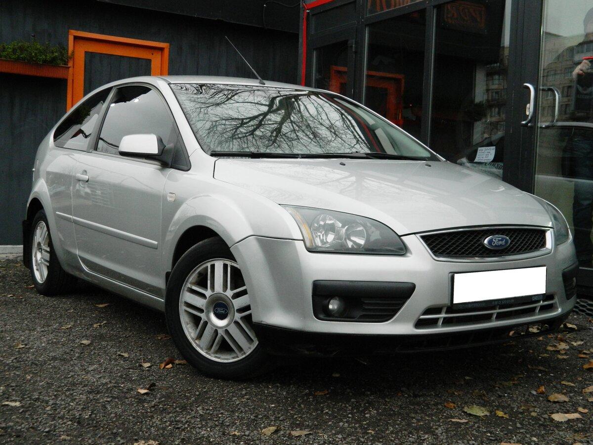 выкуп Продается автомобиль хэтчбек 3 дв. Ford Focus 2005 года, 1.6 л / 100 л.с. / Бензин передний за 219000 в Санкт-Петербурге
