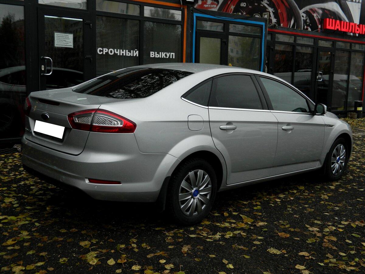 выкуп Ford Mondeo IV Рестайлинг