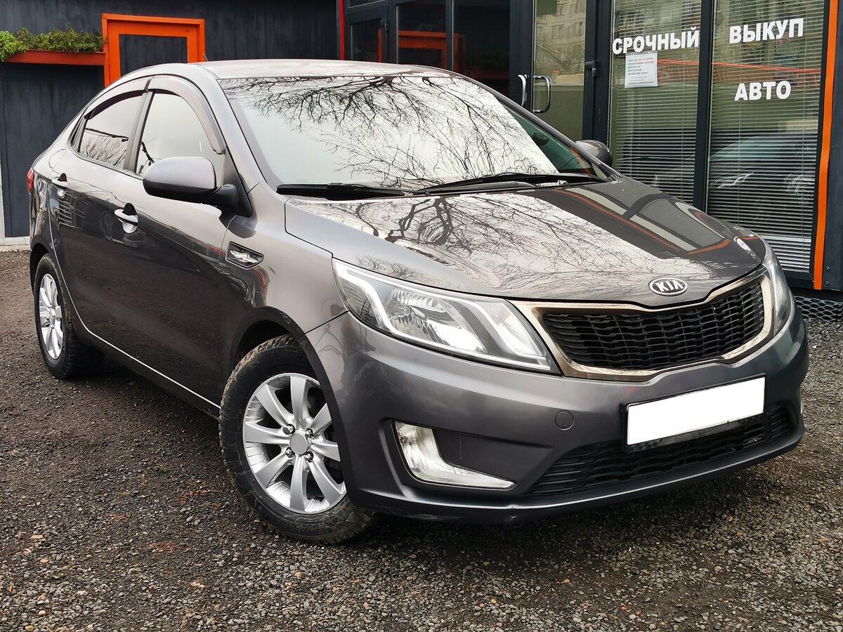 выкуп Продается автомобиль седан Kia Rio 2012 года, 1.4 л / 107 л.с. / Бензин передний за 395000 в Санкт-Петербурге