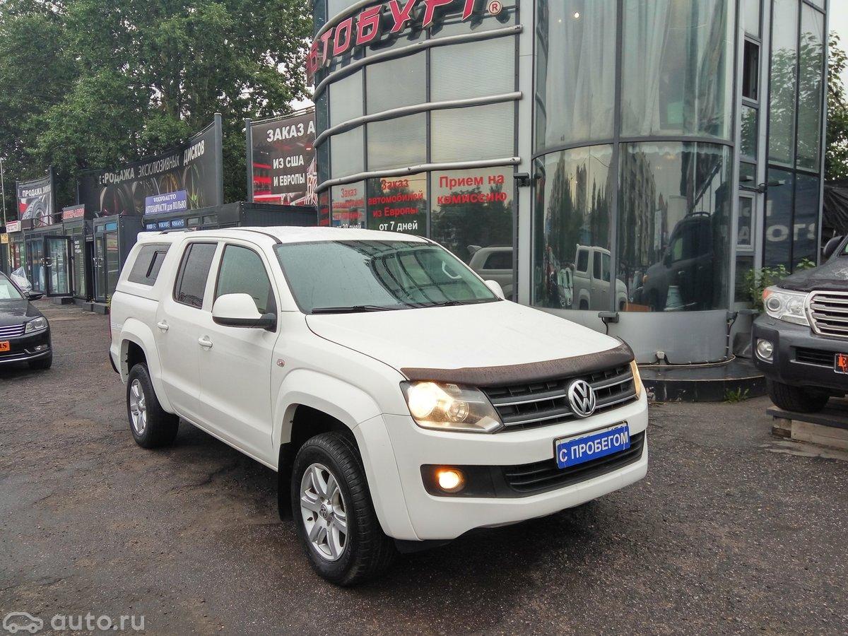 выкуп Продажа Volkswagen Amarok I в Санкт-Петербурге