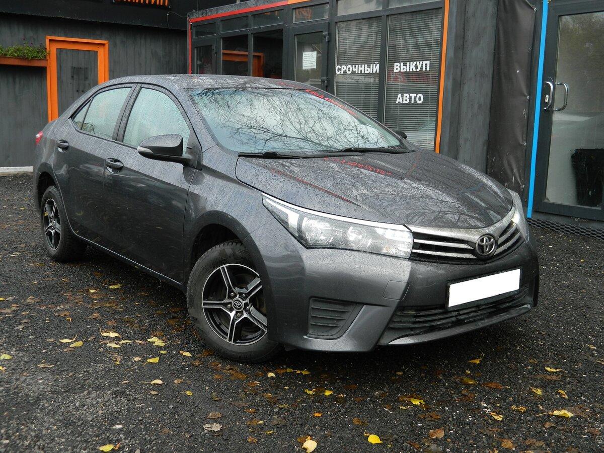 выкуп Toyota Corolla XI (E160, E170)