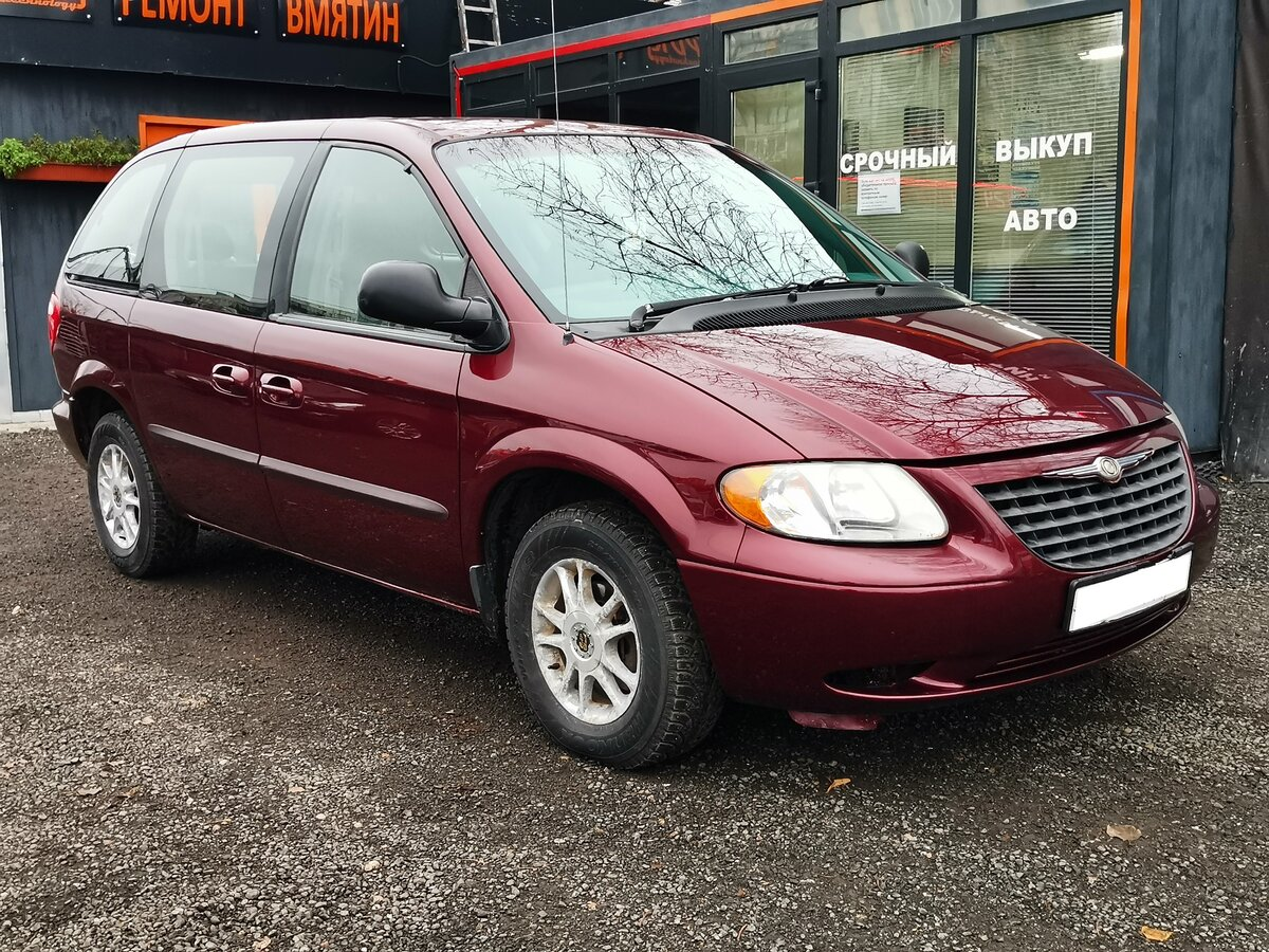 выкуп Продается автомобиль минивэн Chrysler Voyager 2003 года, 2.4 л / 150 л.с. / Бензин передний за 250000 в Санкт-Петербурге